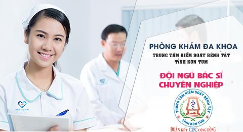 Phòng Khám đa khoa, Trung tâm Kiểm soát bệnh tật tỉnh Kon Tum chuyên cung cấp các dịch vụ
