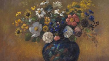 Flores y color con Odilon Redon