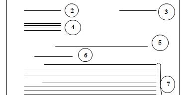 contoh surat bentuk setengah lurus semi block style