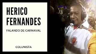 Herico Marcelo Fernandes colunista de Carnaval