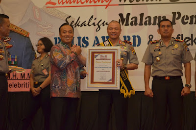 Peduli Sosial Tinggi dan Humanis, Wakapolda Lampung jadi Duta Polisi Selebriti