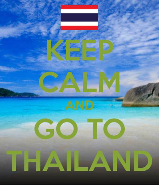 I want to travel with you to Thailand.