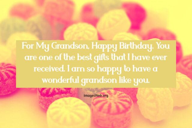heartwarming happy birthday wishes for grandson