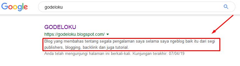 Cara Membuat Meta Description Blog Agar Lebih Seo Friendly di Mata Google Pencarian