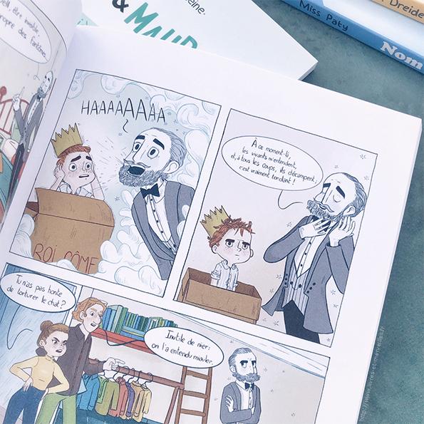 bd jeunesse : Côme et le fantôme