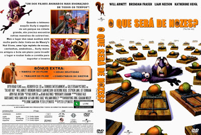 Filme O Que Será de Nozes (The Nut Job) DVD Capa