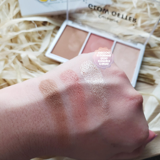 Careline Glow Getter Swatches