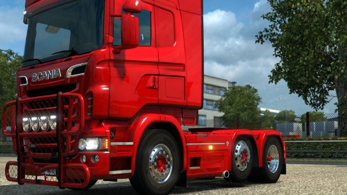 Sidepipes for Scania RJL Truck