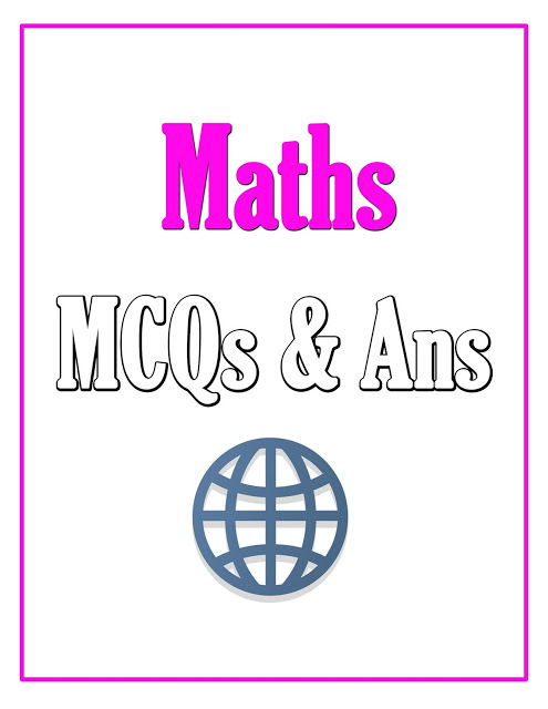 Maths MCQs Book with Answers Download Free