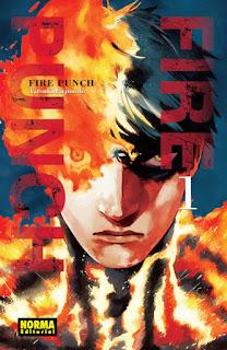 "Reseña de ""Fire Punch"" (ファイアパンチ) de Tatsuki Fujimoto - Norma Editorial"