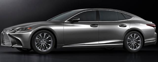 2018 Lexus LS Exterior