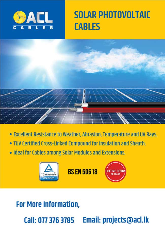 Solar photovoltaic cables from ACL Cables