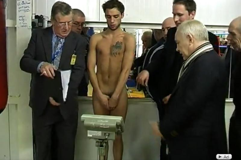 Speaking, boxers weigh in nude photos