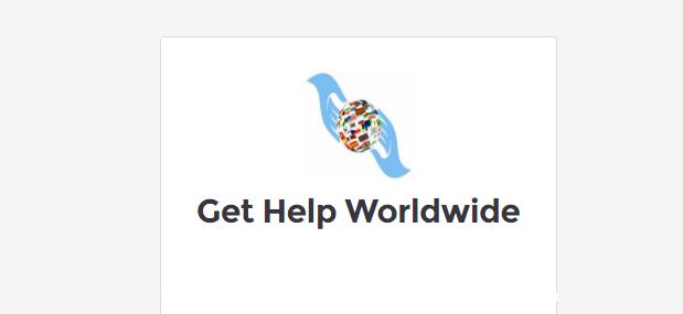 Get worldwide help ratings