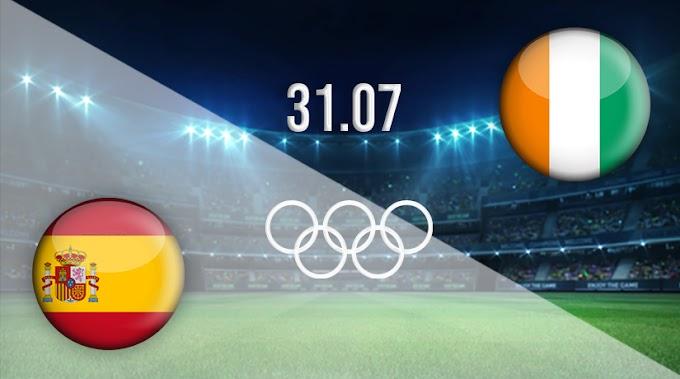 Watch Spain VS Ivory Coast Matche Live