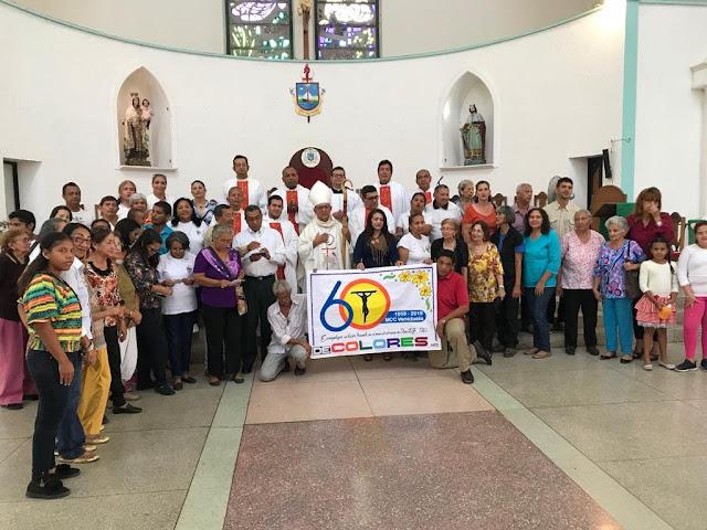 APURE: Celebraron 60° Aniversario de Cursillos de Cristiandad en San Fernando.