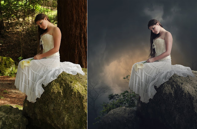 Photoshop Tutorial - Make Dramatic Effects Photo Manipulation
