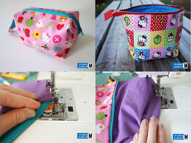 How to sew and sew a hand bag step by step