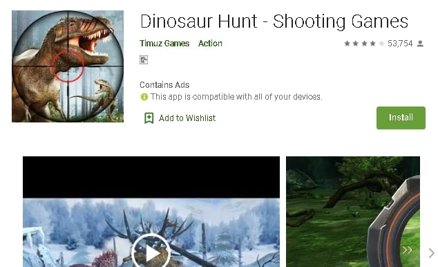 Top 10 Best Dinosaur Games For Android In 2020