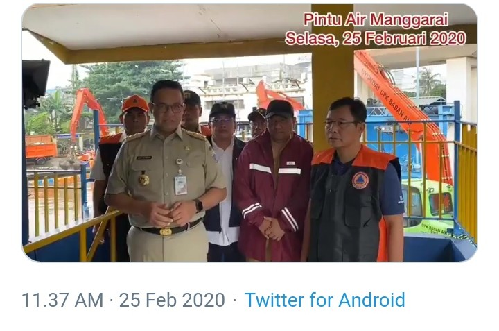 Jakarta Banjir, Anies: Kami Turun Tangan Langsung, Insya Allah Siap Tuntaskan Masalah
