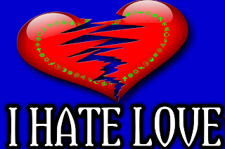I hate love pic, hate image