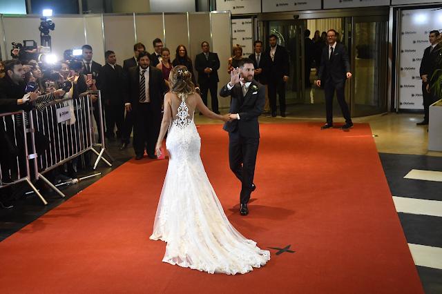 La mejores imágenes de la Boda del Año: Messi-Antonella