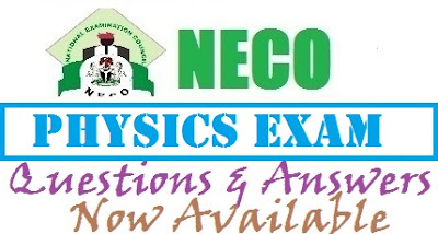 NECO Physics Solutions 2017 | Essay and Objectives Answers Expo (Theory Questions)