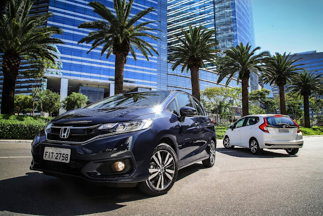 Honda Fit 2018: nova central multimídia