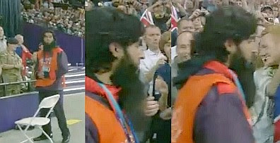 Olympics 2012: Security guard