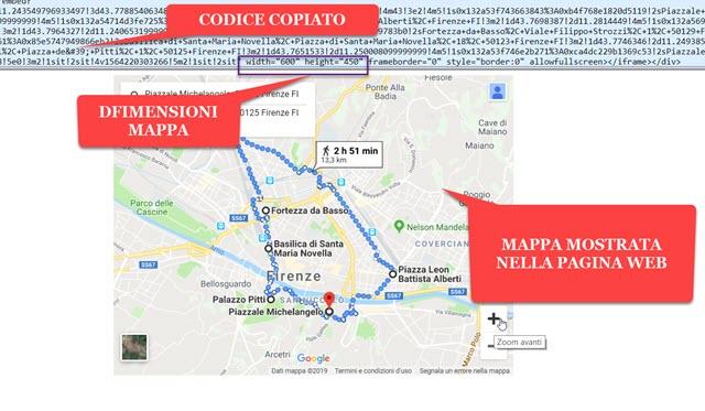 incorrporare-mappa-pagina-web