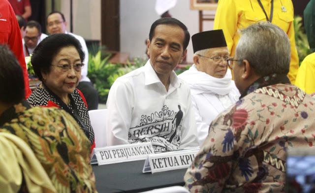 KPU Tidak Kredibel, Jokowi-Ma'ruf Tak Punya Konsep