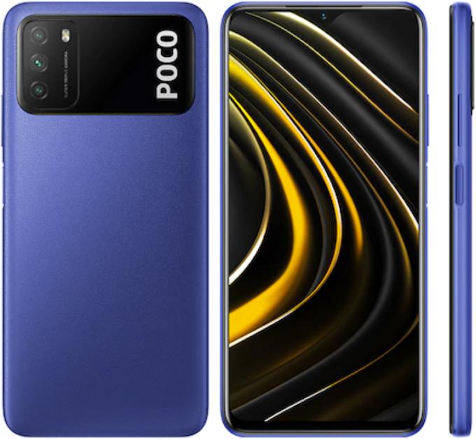 موبايل Xiaomi Poco M3 بسعر 2549 جنيه على نون مصر