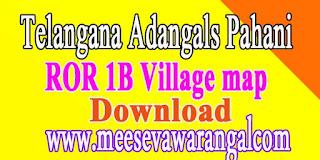 Telangana (TS) Adangals Pahani ROR 1B FMB Free Download