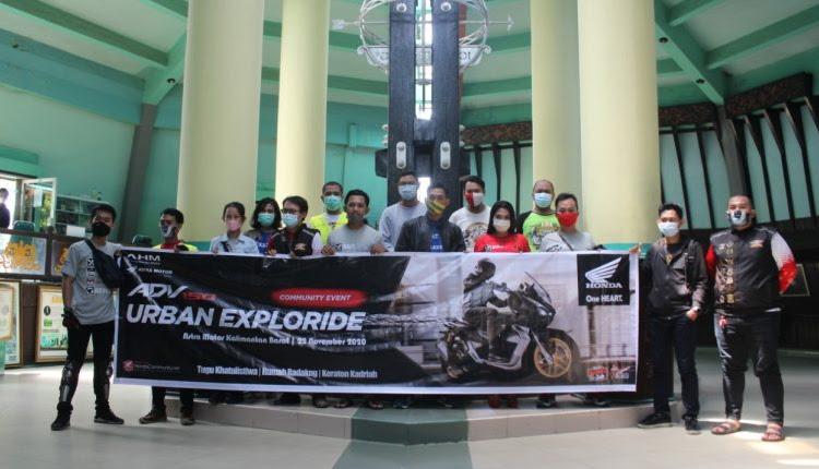 ADV150 Urban Exploride, Jelajah Kota Pontianak Dengan Skutik Premium Honda