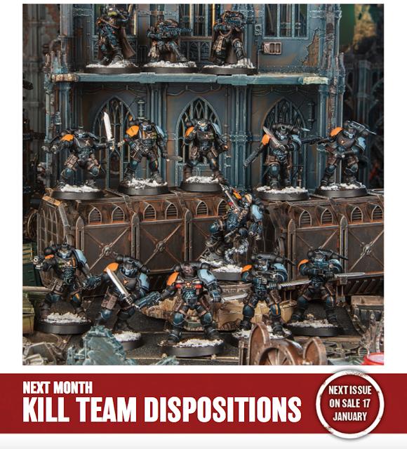 White Dwarf Kill Team Dispositions