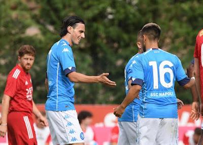 نابولى تدمر انايونيا 12-0 وديا استعدادا لانطلاق الموسم الجديد