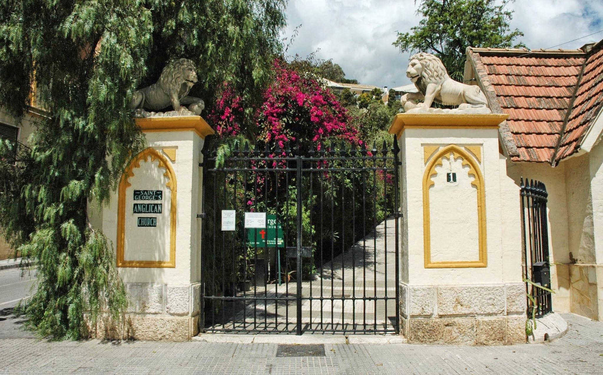 The English Cemetery (Malaga, Spain)