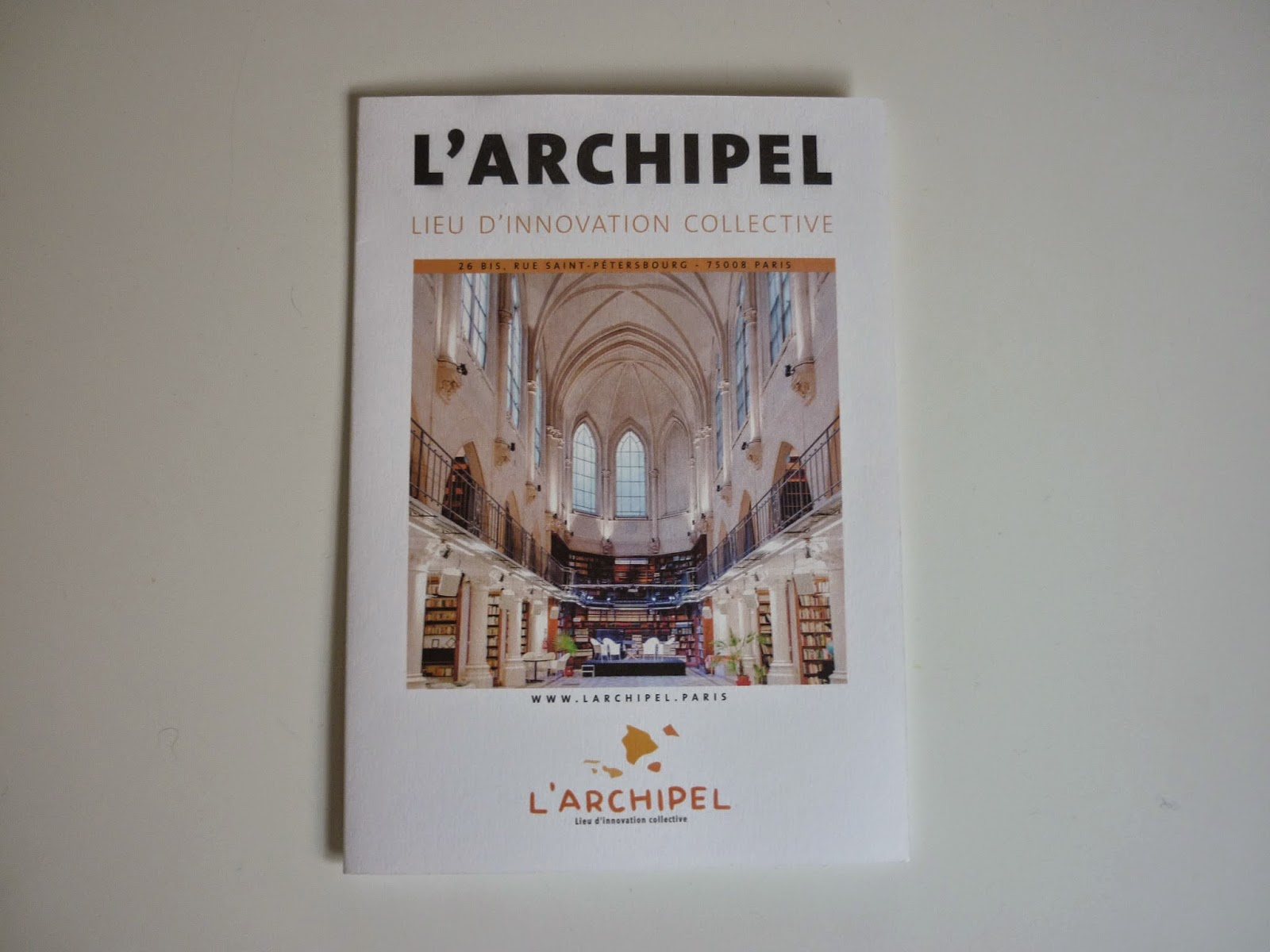 L'Archipel à Paris