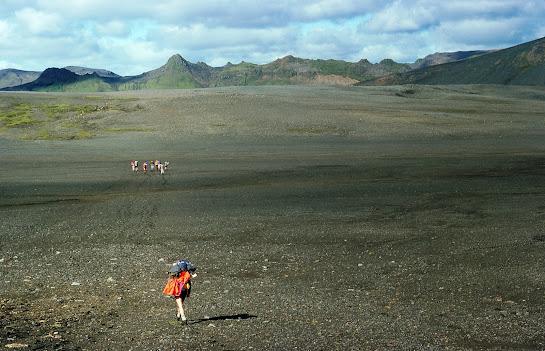 Iceland 1977: between Hvanngil and Krokur