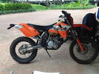 Trail Bekas Dijual KTM 400 & DRZ 400