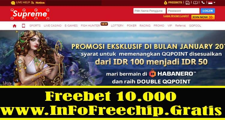 Freebet Chips 88