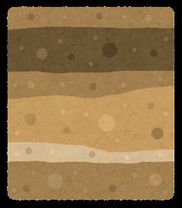 地層のイラスト(水)