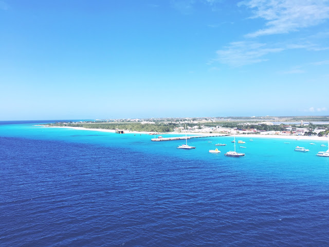 View of Grand Turk, Turks & Caicos from the Carnival Glory cruise ship