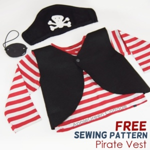 pirate eye patch and skull applique free template applegreen cottage