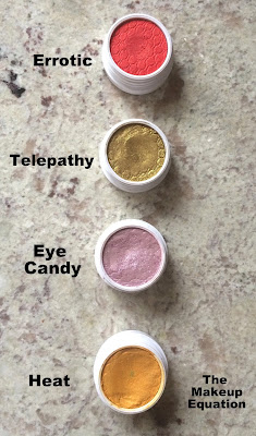 Colourpop Cosmetics Heat, Colourpop Cosmetics Eye Candy, Colourpop Cosmetics Telepathy, Colourpop Cosmetics Errotic