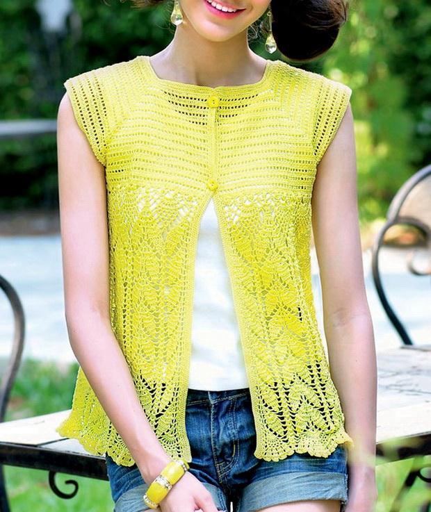 Crochet Vest - Beautiful