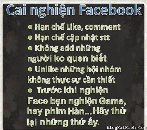 Cai nghiện Facebook