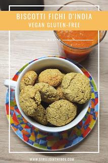 fichi d'India biscotti vegan
