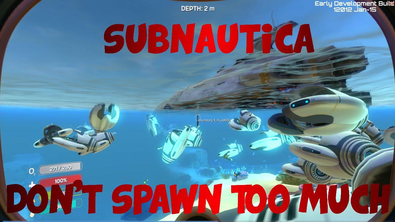 Subnautica Spawn List Woodworking