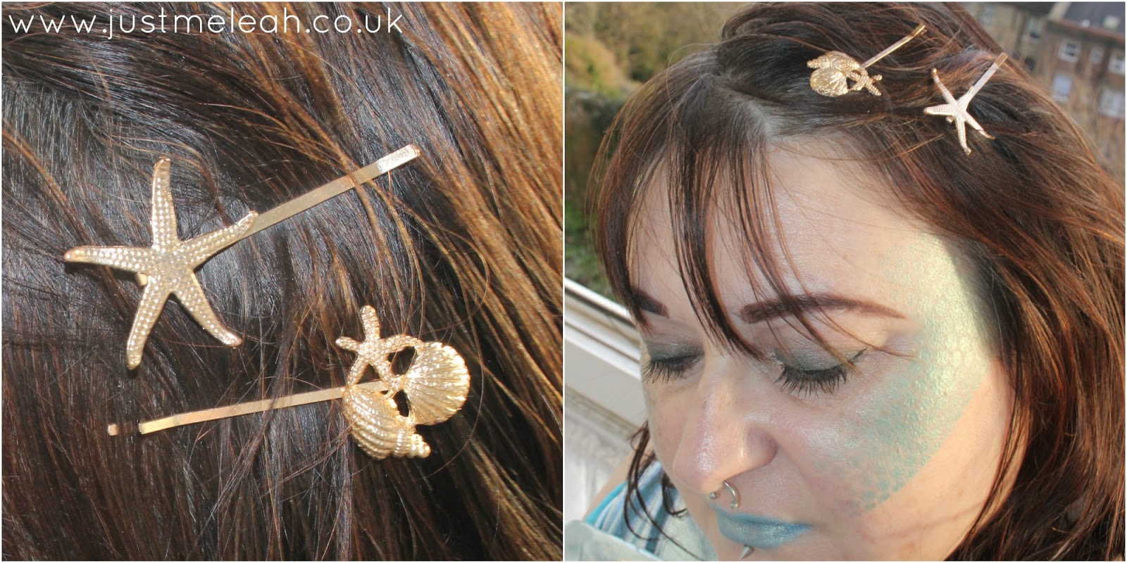 Crown & Glory nautical bobby pin pair